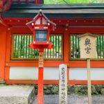 貴船神社 奥宮へも参拝。温かさと力強さが混在する素晴らしい場所でした!